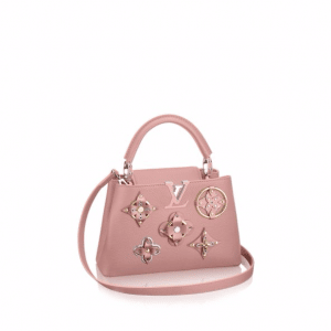 Louis Vuitton Magnolia Monogram Flower Embellished Capucines BB Bag