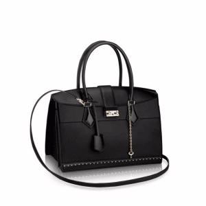 Louis Vuitton Noir Cour Marly MM Bag