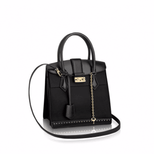 Louis Vuitton Noir Cour Marly PM Bag
