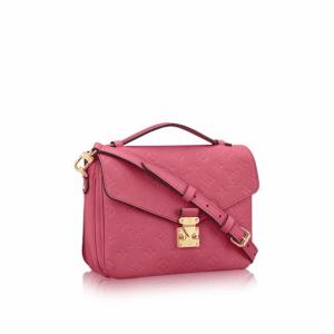 Louis Vuitton Rose Bruyère Monogram Empreinte Pochette Métis Bag