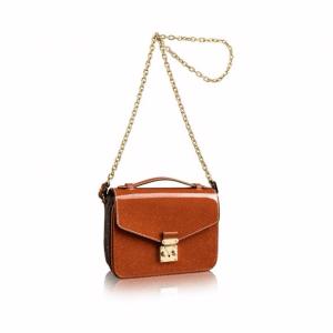 Louis Vuitton Tan Epi/Monogram Canvas Pochette Métis Mini Bag