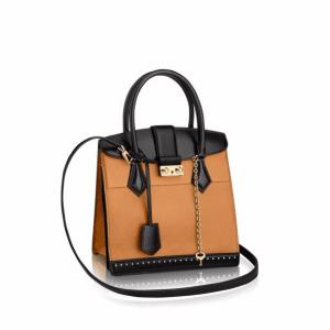 Louis Vuitton Camel Cour Marly PM Bag