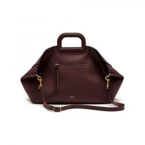 Mulberry Burgundy Silky Calf Brimley Tote Bag