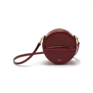 Mulberry Crimson Silky Calf Trunk Bag