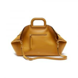 Mulberry Gold Ochre Silky Calf Brimley Tote Bag