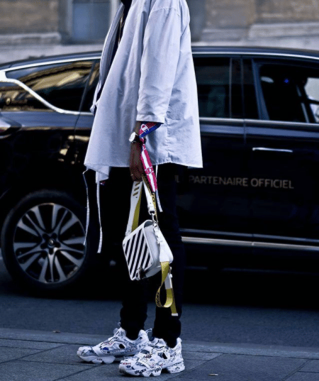 offwhite binder clip bag by virgil abloh spotted fashion