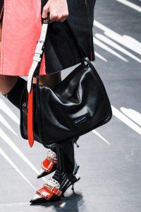 Prada Black Flap Bag - Spring 2018