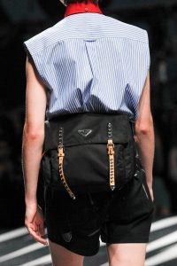 Prada Black Nylon Belt Bag 2 - Spring 2018