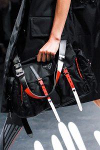 Prada Black Nylon Messenger Bag - Spring 2018