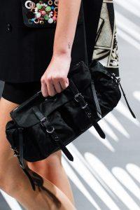 Prada Black Nylon Messenger Shoulder Bag - Spring 2018