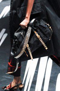 Prada Black Studded Nylon Messenger Bag 2 - Spring 2018