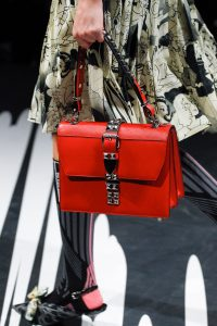 Prada Red Flap Bag - Spring 2018
