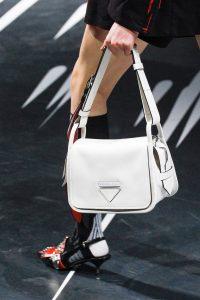 Prada White Flap Bag 2 - Spring 2018