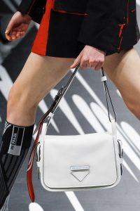 Prada White Flap Bag - Spring 2018
