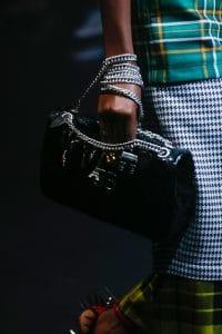 Balenciaga Black Monogram Flap Bag - Spring 2018