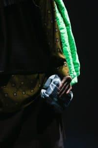 Balenciaga Gray Camo Print Clutch Bag - Spring 2018