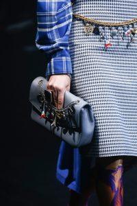 Balenciaga Gray Flap Bag - Spring 2018