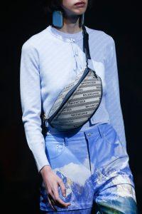 Balenciaga Gray Monogram Belt Bag - Spring 2018