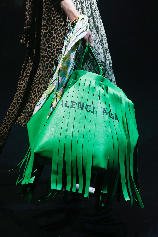 Balenciaga Spring Summer 2018 Runway Bag Collection Spotted Fashion