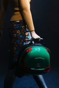 Balenciaga Green/Black Hard Case Bag - Spring 2018