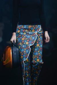 Balenciaga Orange/Black Hard Case Bag - Spring 2018