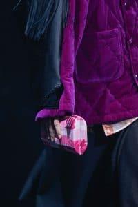 Balenciaga Pink Camo Print Clutch Bag - Spring 2018