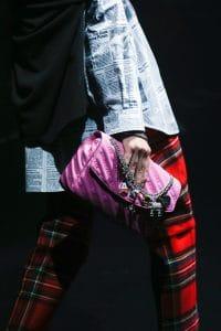 Balenciaga Pink Monogram Flap Bag - Spring 2018