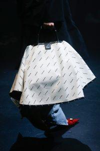 Balenciaga White/Black Monogram Top Handle Bag 2 - Spring 2018