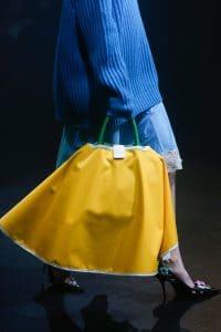 Balenciaga Yellow/Green Top Handle Bag 2 - Spring 2018