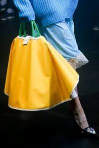 Balenciaga Yellow/Green Top Handle Bag - Spring 2018
