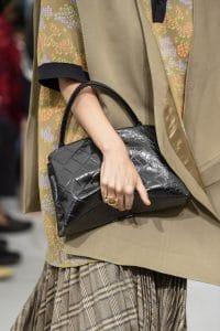 Celine Black Crocodile Top Handle Bag - Spring 2018