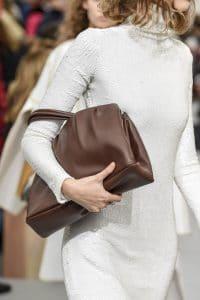 Celine Brown Top Handle Bag - Spring 2018