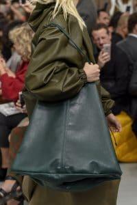 Celine Dark Green Tote Bag - Spring 2018