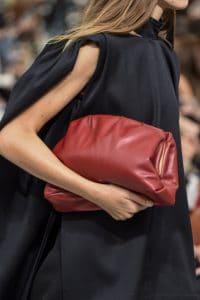 Celine Red Clutch Bag - Spring 2018