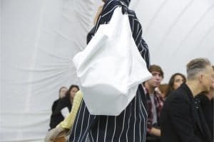 Celine White Tote Bag - Spring 2018