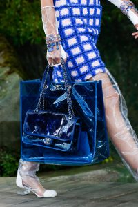 Chanel Blue PVC Tote and Flap Bags 2 - Spring 2018