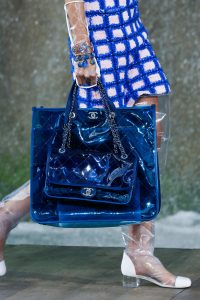 Chanel Blue PVC Tote and Flap Bags - Spring 2018