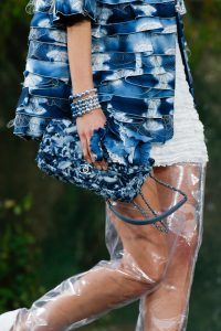 Chanel Blue Tie-Dye Classic Flap Bag 2 - Spring 2018