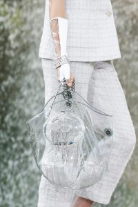 Chanel Transparent Embellished Hobo Bag - Spring 2018