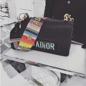 Dior Black Canyon Grained Lambskin J'adior Flap Bag 5