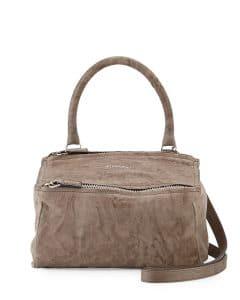 Givenchy Beige Pandora Pepe Small Satchel Bag