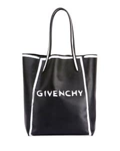 Givenchy Black Logo Neo Stargate Small Tote Bag