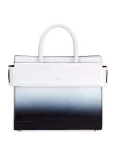 Givenchy Black/White Gradient Spray Small Horizon Bag