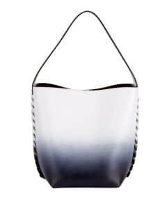 Givenchy Black/White Infinity Ombre Shoulder Bag