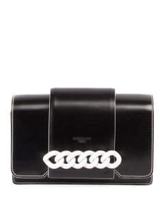 Givenchy Black/White Infinity Small Crossbody Bag