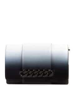 Givenchy Black/White Ombré Infinity Small Crossbody Bag