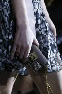 Givenchy Black/White Python Mini Flap Bag - Spring 2018
