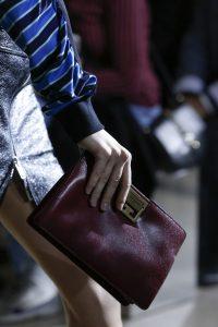 Givenchy Burgundy Clutch Bag - Spring 2018
