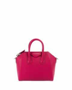 Givenchy Fuchsia Mini Antigona Bag