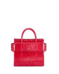 Givenchy Fuchsia Python Mini Horizon Bag